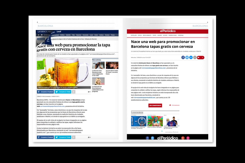 PUBLICITY CERVEZA