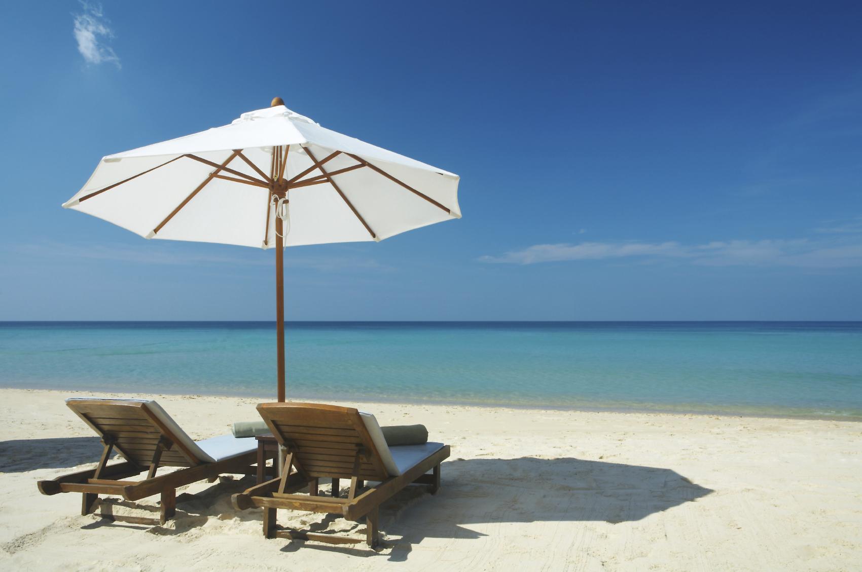 playa tumbonas